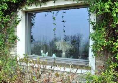 Navello finestra legno seta regolo foglia