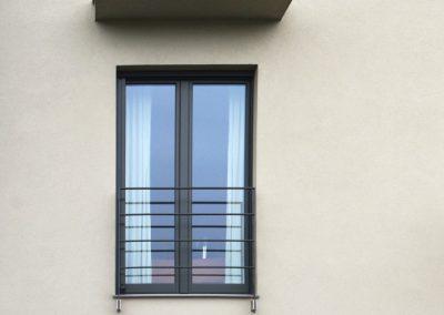 Navello finestra legno alluminio oceano portafinestra a 2 ante