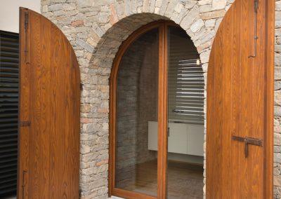 Navello finestra legno seta 2.0 slim arco