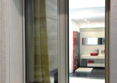 Navello finestra legno alluminio oceano a 2 ante