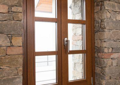 Navello finestra legno seta 2.0 slim maniglia con chiave