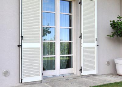 Navello finestra legno novecento portafinestra con traversini
