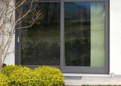 Navello finestra legno alluminio nuvola scorrevole a 2 ante