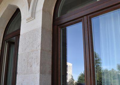 Navello finestra legno seta 2.0 eco marrone