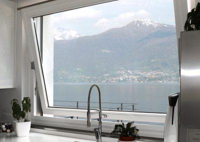 Navello finestra legno alluminio nembo 2.0 apertura a bilico