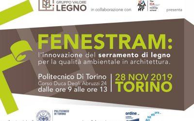 Fenestram: l'innovazione del serramento in legno al Politecnico di Torino