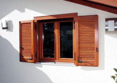 Navello persiana legno con monoblocco