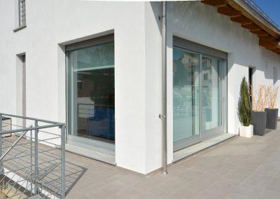 Navello finestra legno alluminio nembo scorrevole