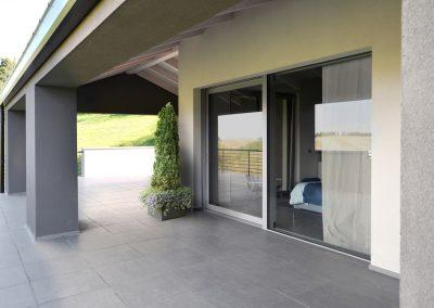 Navello finestra legno alluminio minimal